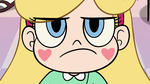S2E32 Close-up on Star Butterfly's determined face