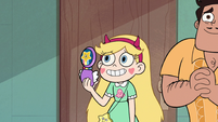 S2E27 Star Butterfly taking a picture of Marco and Jackie