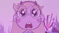 S2E7 Star Butterfly in awe of giant castle