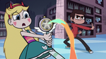 S1E8 Star's wand fires rainbow trickle
