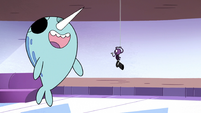 S2E22 Narwhal 'your warrior spell instincts kick in'