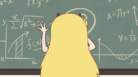 S2E32 Star Butterfly writes on the chalkboard again