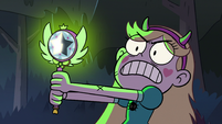 S3E5 Star Butterfly about to blast rats with magic