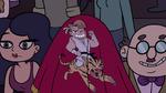 S2E37 Jeremy's cape lands on a man's face