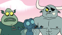 S2E12 Boo Fly gets between Buff Frog and Dogbull again