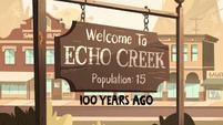 S2E27 Echo Creek one hundred years ago