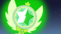 S3E1 Star Butterfly's wand glowing green