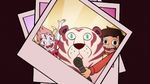 S2E19 Photo of Tom, Marco, and white tiger