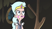 S3E5 Queen Moon raising an eyebrow