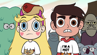 S2E13 Marco surprised by Pony Head's words