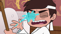 S2E4 Marco gets splashed with toilet water