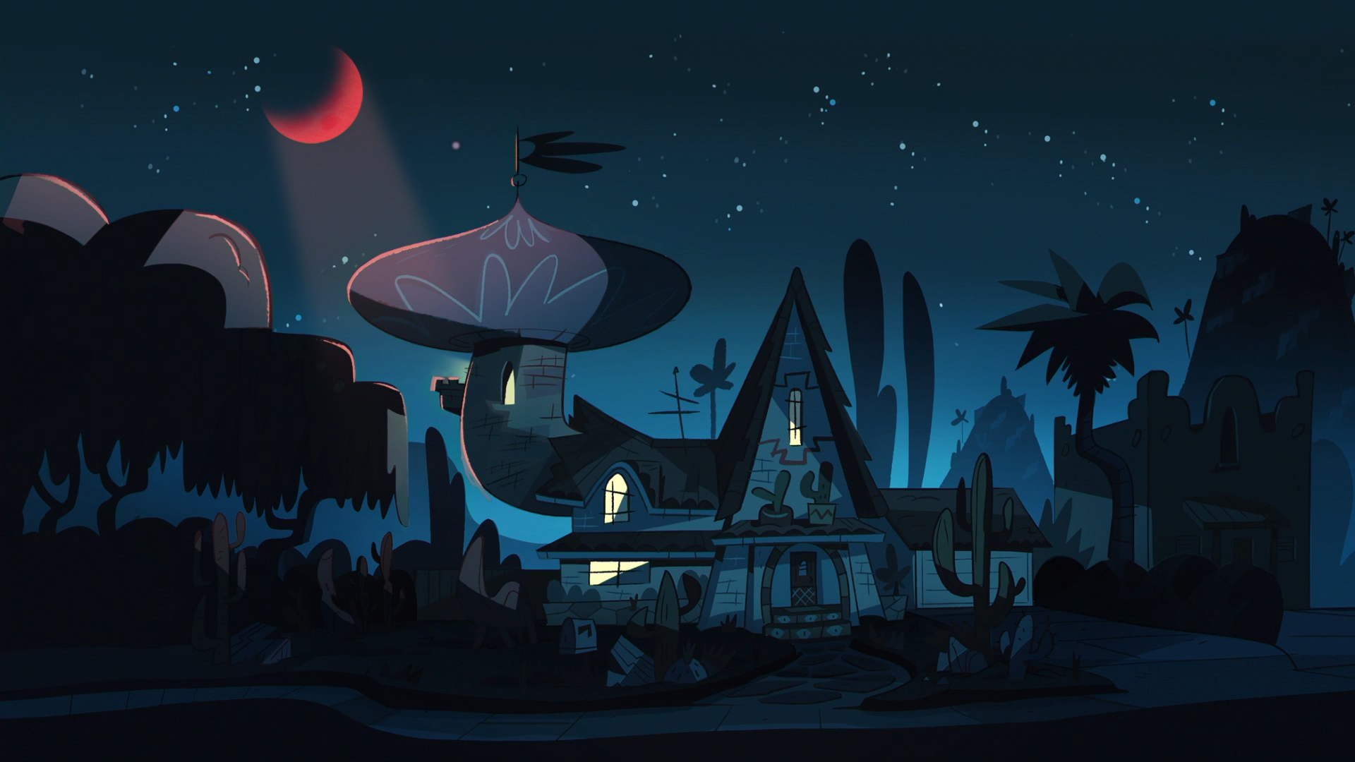 Background image vs background - Blood Moon Ball Background Diaz Household Night Png