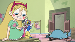S2E23 Star Butterfly happy that her spells work again