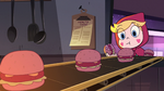 S2E23 Star Butterfly eating a memory burger