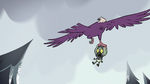 S2E2 Eagle flies into the sky with Ludo