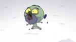 S2E2 Ludo catches spider's scraps in his mouth