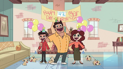 S1E6 Diaz family's surprise party for Star