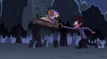 S2E27 Marco Diaz trying to get the spell book