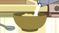 S2E26 Milk pouring into a bowl of cereal