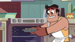 S2E41 Rafael takes pizza nuggets out of the oven