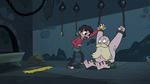 S3E6 Marco Diaz giving the butter to River