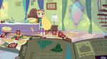 S2E25 Star Butterfly disinterestedly rises to her feet