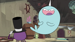 S2E22 Narwhal laughing at Spider With a Top Hat