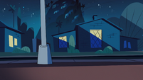 Star Comes to Earth background - Echo Creek street night 1