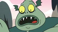 S2E12 Buff Frog in shock