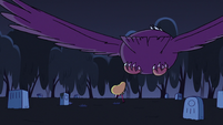 S2E27 Bald eagle swooping down on Star Butterfly