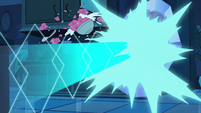 S2E34 Star Butterfly gets blasted with crystal magic