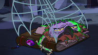 S2E27 Ludo and spell book caught with spider web