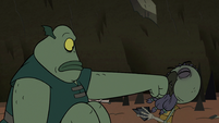 S2E20 Buff Frog punching out Ludo