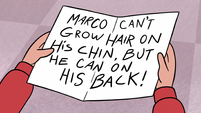 S2E26 Marco's note to Jackie Lynn Thomas