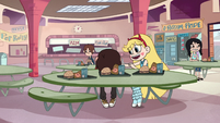 S2E26 Star Butterfly trying to cheer Marco up