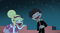 S1E15 Star and Marco laughing