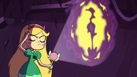 S2E28 Star Butterfly concentrating on Glossaryck