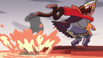 S2E15 Marco saves royal guard from the lava