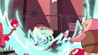 S1E16 Monsters blown away by mushroom blast