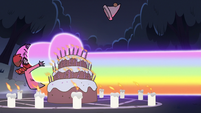 S2E27 Ludo gets hit by a rainbow fist