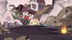 S3E4 River and Marco discover monster's giant footprint