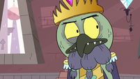 S3E7 King Ludo thinking about Star's words