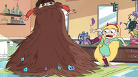 S1E23 Marco's beard grows uncontrollably