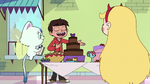 S2E30 Marco Diaz presenting treats to Baby