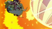 S2E12 Buff Frog saves monsters from the flames