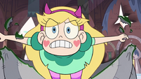S3E7 Star Butterfly lunges at King Ludo