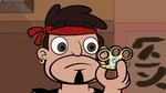 S1E5 Sensei looking at gold knuckles