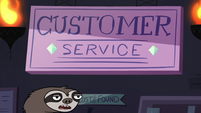 S2E18 Sloth employee 'we really need to ditch that sign'