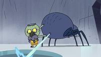 S2E2 Ludo shoots web into the ice hole