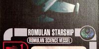 Romulan Starship - Science Vessel Class (Cost 12)